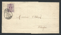 Menu 1929 Du Cercle Philatélique De Namur Affr D'un Faux 8 Cent Et Fausse Obl NAMUR. Pièce Amusante - 1869-1883 Léopold II