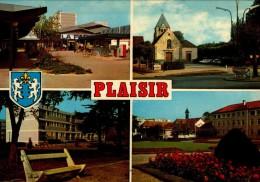78-PLAISIR..4 VUES....CPM - Plaisir