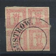 Allemagne Anciens Etat - Mecklembourg Schwerin N° 8 Obl - Mecklenburg-Schwerin