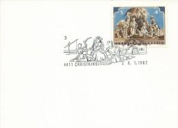 MF007 - MARCOFILIA -AUSTRIA -6.1.1982 -TEMATICA CHRISTKINDL - 1981-90 Covers