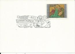 MF005 - MARCOFILIA -AUSTRIA -6.1.1977 -TEMATICA CHRISTKINDL - 1971-80 Covers