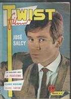 """TWIST FILMS  N° 12 - 1963 """" LA PARISIENNE """"  Couv. : JOSE SAL CY - SYLVIE VARTAN - Dos: FRANCOISE HARDY - Cinéma"""