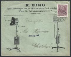 """L. Illustrée """"Photographie / Bing"""" Affr 3H De Wien 1918. TTB - 1918-1945 1ère République"""
