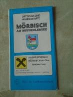 Austria MÖRBISCH AM  NEUSIEDLERSEE  -Map Carte Wanderkarte  Ca 1970-80  D137888 - Unclassified