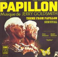 "B-O-F  Jerry Goldsmith / Steve McQueen / Dustin Hoffman  ""  Papillon  "" - Soundtracks, Film Music"