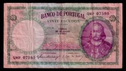 Portugal 20 Escudos 1951 P.153a F - Portugal