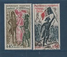 1729 - 1730  -  Année 1972  -  2  Valeurs   -  Oblitération Cachet Rond - Bonaparte  & Incroyables Et Merveilleuses - Oblitérés