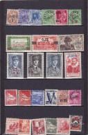 ALGERIE  : Y&T :lot De 25 Timbres * - Algérie (1924-1962)