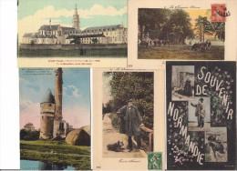 A SAISIR LOT DE 500 CPA DE L'ORNE DIVERSE - - Cartes Postales