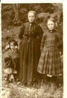 A Identifier. Cpa Photo D´une Mère Et Ses Deux Enfants , Photo Jérome . - A Identifier