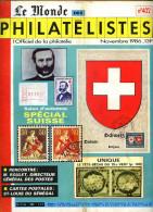 Le Monde Des Philatelistes N.402,11/86,Croix-rouge,Dunant,Frama,poste Militaire Suisse,musée PTT Berne,Suisse 1854-62,ae - Magazines