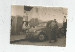 Photographie 10.5 X 7.5  , Issue D´un Service Militaire , 1954-1955 , Algerie , Automobile , Citroen 2 Cv - Cars