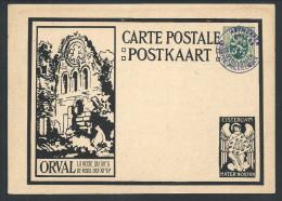 Ep Orval 35c Vert Càd Bil ANVERS/JOURNEES PHILATELIQUES/1928 - Stamped Stationery