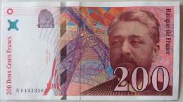 200 Francs 1997    Eiffel - 1992-2000 Dernière Gamme