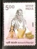 India 2009 Maharshi Patanjali Health Herbal Medicine Famous People 1v MNH Inde Indien - Medicine