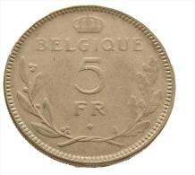 5 Francs - Belgique - Léopold III - 1936 - Nickel -  TB+ - - 1934-1945: Leopold III