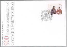 Portugal, 1996, FDC 900 Anos Da Constituição Do Condado Portucalense, Carimbo De Lisboa - FDC