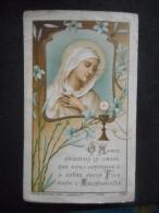 """IMAGE Pieuse Ancienne COMMUNION """"Jacques LEGRAND Eglise Notre-Dame VERSAILLES 1913"""" - Religion & Esotericism"""