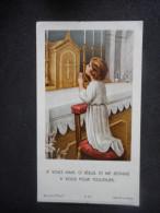 "IMAGE COMMUNION ""Jacqueline Di DOMENICO Chapelle Pensionnat Versailles (BASSE TERRE) - 1962 - Religión & Esoterismo"