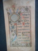 """IMAGE Pieuse Ancienne -enluminure- """"Prodige De L'amour De Dieu...Mgr De SEGUR"""" - Religion & Esotericism"""