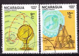 Cometa Di Halley-Nicaragua 1985-Usati - Space