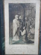 """IMAGE Pieuse Ancienne """"Jesus Christ Est Notre Pain ... TERTULLIEN"""" - (TURGIS 807) -Marie-Céline DENIS -HAIPHONG 1922 - Religion & Esotericism"""