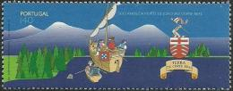 Portugal 1996 Joao Vaz Corte Real , Explorer, 500th Death Anniv Scott 2100 Afinsa 2344 MNH - Explorers