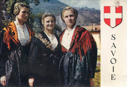 """SAVOIE - La Haute Tarentaise - Tarines En Costumes Portant """"la Frontière"""" - Non Classés"""