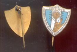 CONGRESO EUCARISTICO INTERNACIONAL AÑO 1934 PIN ORIGINAL BUENOS AIRES REPUBLICA ARGENTINA - Badges