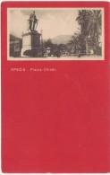 C108 - LA SPEZIA - SPEZIA PIAZZA CHIODO ANIMATA 1921 - La Spezia