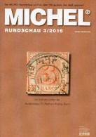MICHEL Briefmarken Rundschau 3/2016 Neu 6€ New Stamps Of The World Catalogue/ Magacine Of Germany ISBN 978-3-95402-600-5 - Magazines: Abonnements