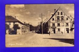 N°352 .LETTONIE. JELGAVAS . PILS IELA .( VOIR TIMBRE ET OBLITERATION ) CARTE POSTALE PHOTO - Latvia