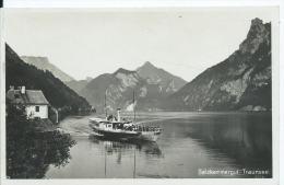AK 0357  Traunsee - Dampfer-Partie / Verlag Brandt Um 1931 - Traun