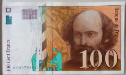 100 Francs  1997    Cézanne - 1992-2000 Dernière Gamme