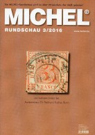 MICHEL Briefmarken Rundschau 3/2016 Neu 6€ New Stamps Of The World Catalogue/ Magacine Of Germany ISBN 978-3-95402-600-5 - Mitteilung