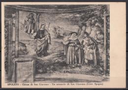 Perugia - Spoleto - Chiesa Di San Giacomo - Un Miracolo Di S. Giacomo (Giov. Spagna) - Gemälde, Glasmalereien & Statuen