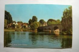 Sonning Bridge , River Thames - Angleterre
