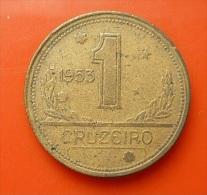 Brazil 1 Cruzeiro 1953 - Brazil