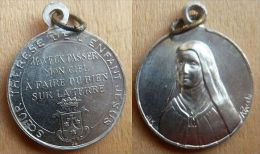 Mada-726 Médaille Ancienne (alliage) Signée Zucchi, Anagramme JB - Religione & Esoterismo