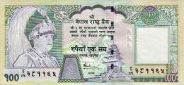MINT NEPAL RUPEE 100 (ONE HUNDRED) BANKNOTE 2006 KING GYANENDRA PICK-57 UNCIRCULATED UNC - Nepal