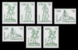 Uzbekistan 2012 Mih. 1000/06 Definitive Issue MNH ** - Usbekistan