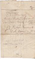 1810- Lettre De Leipzig, 4ème Corps D'armée à Bamberg,pour St Savin(86).Complete .Campagne Napoléonienne.Tb état. - Marcophilie (Lettres)