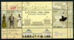Centenary Of Estonia Theater Estonia Viking 2006 MNH Sheet - Estonia