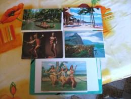 Hawai Lot De 5 Cartes - Etats-Unis