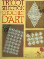 Tricot Sélection Crochet D´art 42, Set De Table, Nappe, Dessus De Plateau - Huis & Decoratie