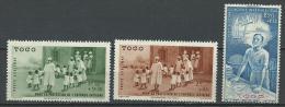 """Togo Aerien YT 6 à 8 (PA 6 à 8) """" Oeuvre Et Quinzaine """" 1942 Neuf** - Neufs"""