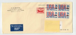 US USA Cover To Italy - Postal History