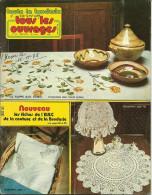 Toute La Broderie, Tous Les Ouvrages 256, Crochet Point De Croix Tricot - Maison & Décoration