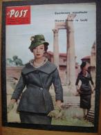 OUD TIJDSCHRIFT MAGAZINE DE POST 1959 N 36 WILLEM ELSSCHOT HARRY BELAFONTE TOGO EISENHOWER CAMARERO - Zeitungen & Zeitschriften