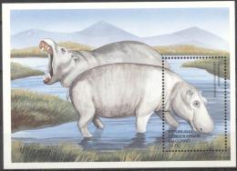 Congo 2000 - MNH - Hippo - Francobolli